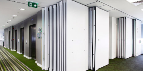 A100 | Solid Movable Wall System