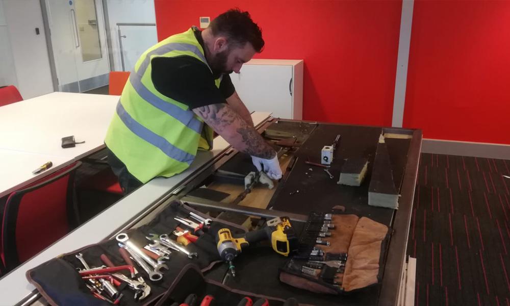 Movable Wall Repairs