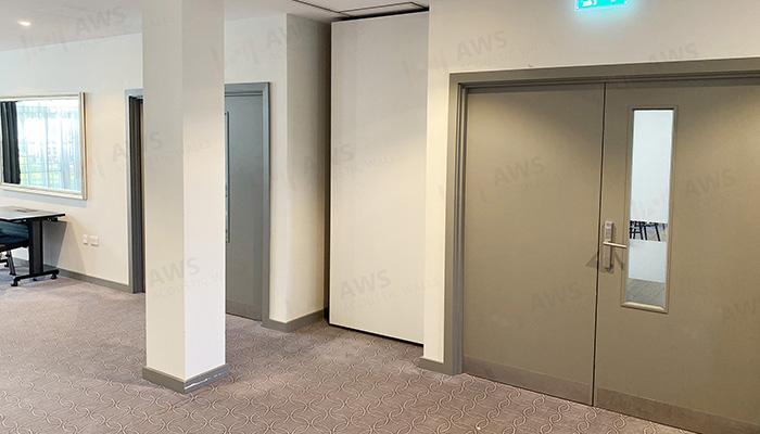 Hotel acoustic walls