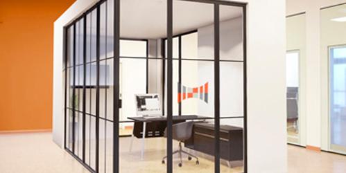 SG70 | Single Glazed Crittall Movable Wall